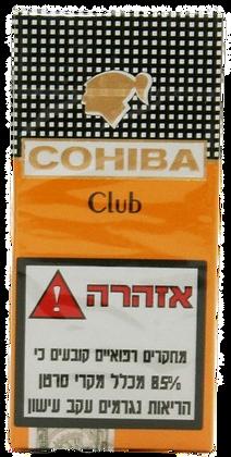 COHIBA CLUB סיגרלות קובניות קוהיבה קלאב