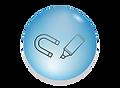 כל לוחות הזכוכית מאפשרים מגנט כתיבה ומחיקה
