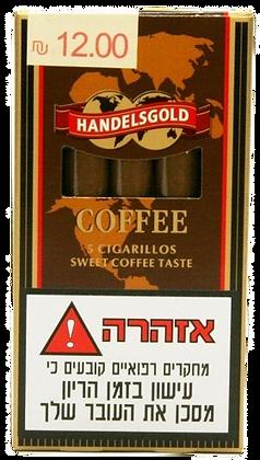 HANDELSGOLD סיגרלות ארומטיות הנדלסגולד קפה