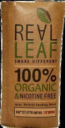 REAL LEAF תחליף טבק לגלגול עצמי ריליף