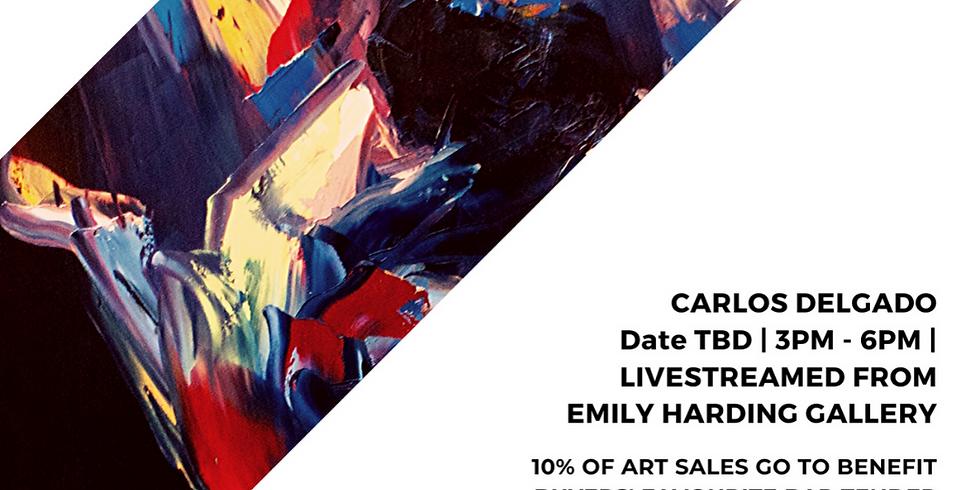 Online Art Auction & Livestream Painting