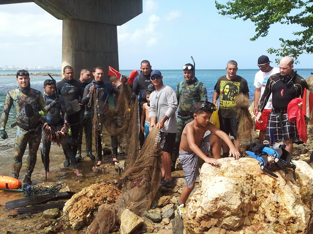 PRFreedivers Beach Cleanups