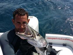Spearfishing Puerto Rico
