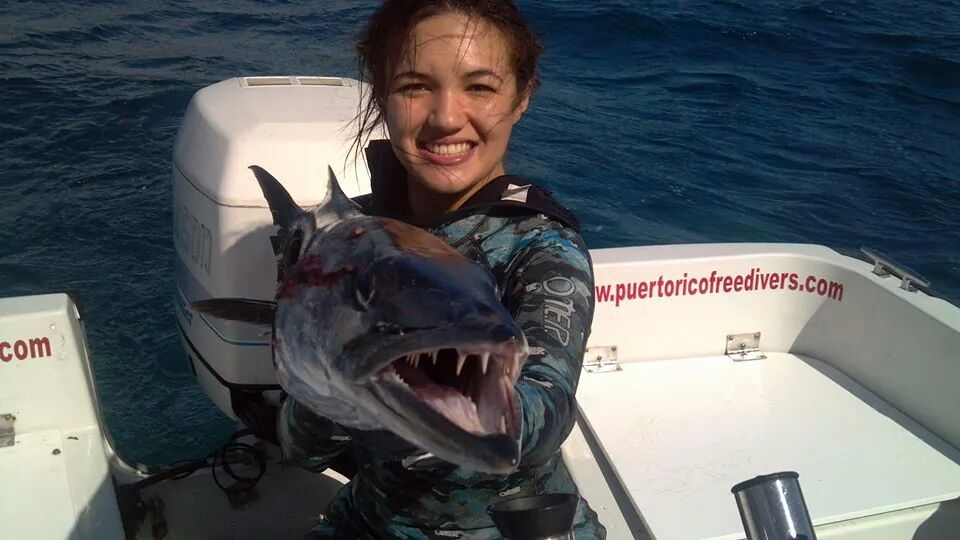 Spearfishing PR Female Record