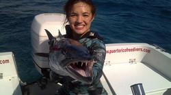 Spearfishing PR Female Record
