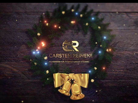 Frohe Weihnachten und einen guten Start ins Jahr 2020 / Merry Christmas and a Happy New Year 2020