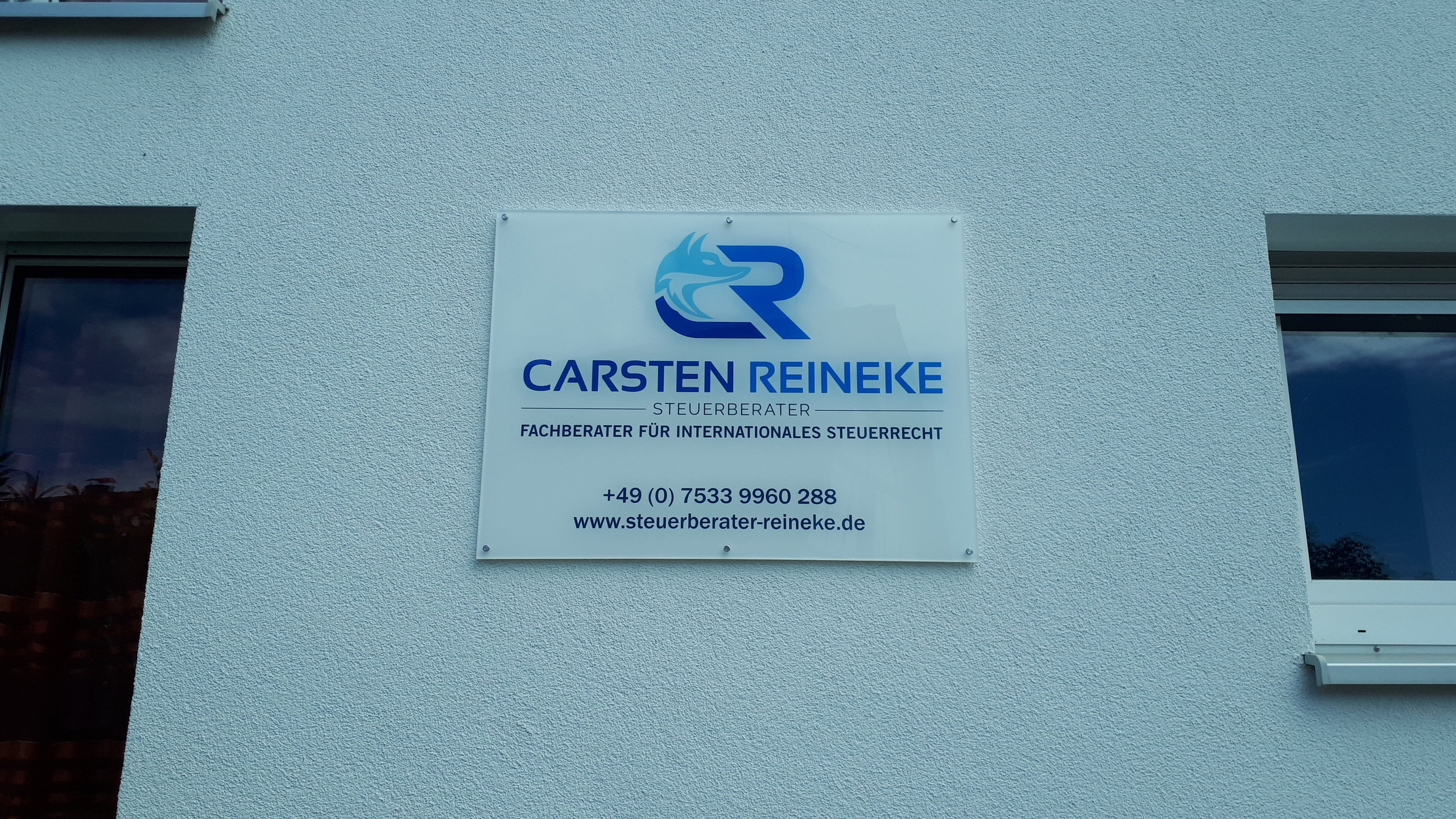 Firmenschild / company sign