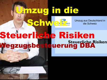 Steuerrisiken beim Umzug in die Schweiz