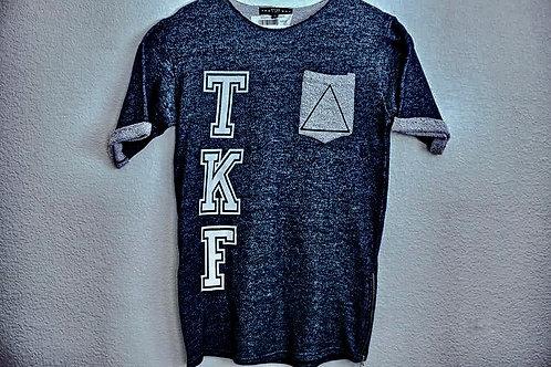 TKF Varsity Zip Up T