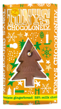 Christmas Tony's Chocolonely Big Bar (180g)