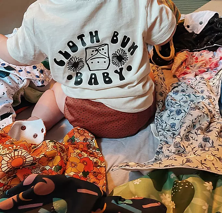Cloth Bum Baby Tshirt - For The Kids Clothing