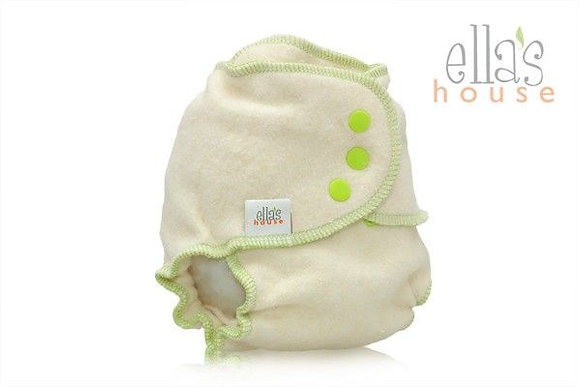 Ella's House Bum Slender Reusable Nappy - green, pink blue,