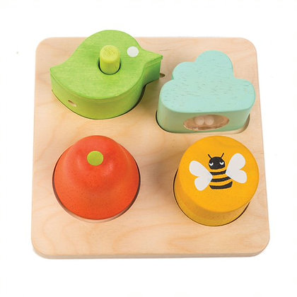 Audio Sensory Tray by Tender Leaf Toys
