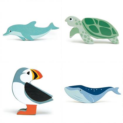 Coastal Animals by Tender Leaf Toys