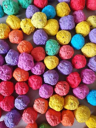 Wild Flower Seed Balls