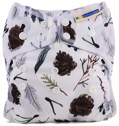 Mother-ease Wizard Duo All In One Reusable Nappy Pine