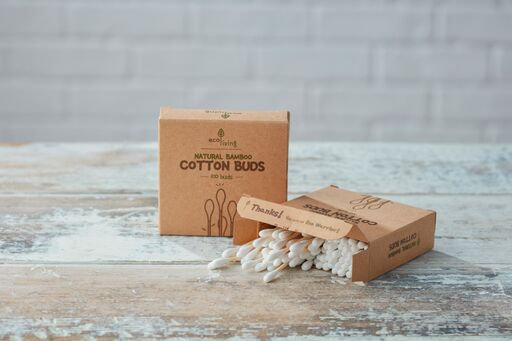Eco Living Bamboo Cotton Buds