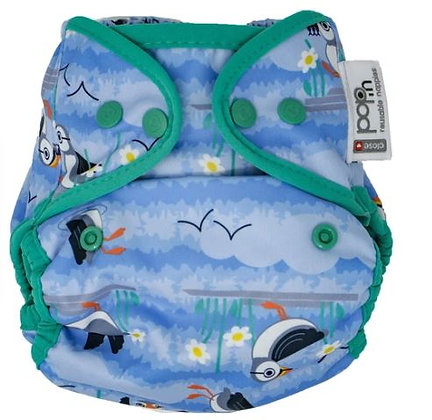 Pop-in Reusable Nappy Cover (Popper)