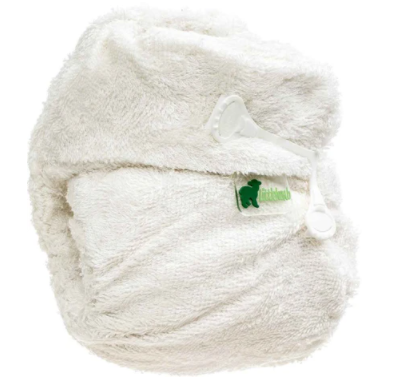 Little Lamb Bamboo Fitted Nappy - Nippa Fastening