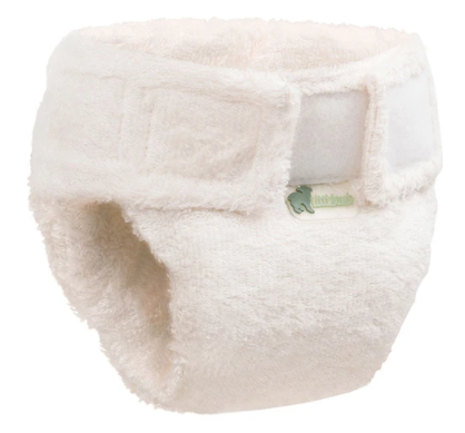 Little Lamb Bamboo Fitted Nappy - Velcro