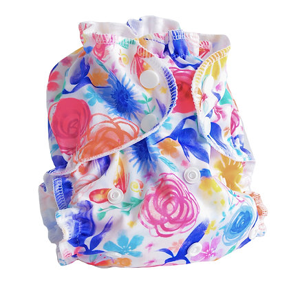 AppleCheeks All In One One Size Reusable Nappy