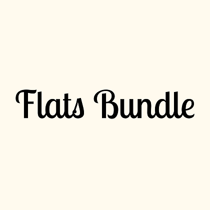 Get Into Flats Bundle