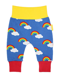 Toby Tiger Orgnic Kids Rainbow Cloth Friendly Yoga Pants