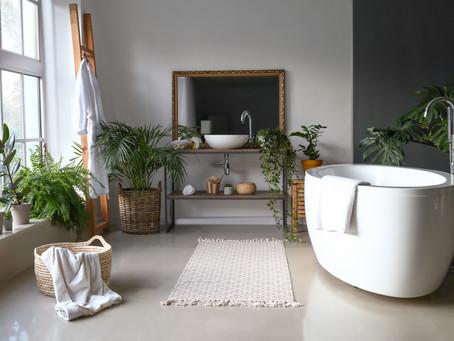 Озеленение в ванной комнате