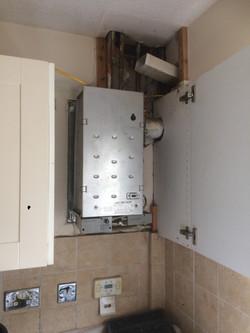 Boiler Removed