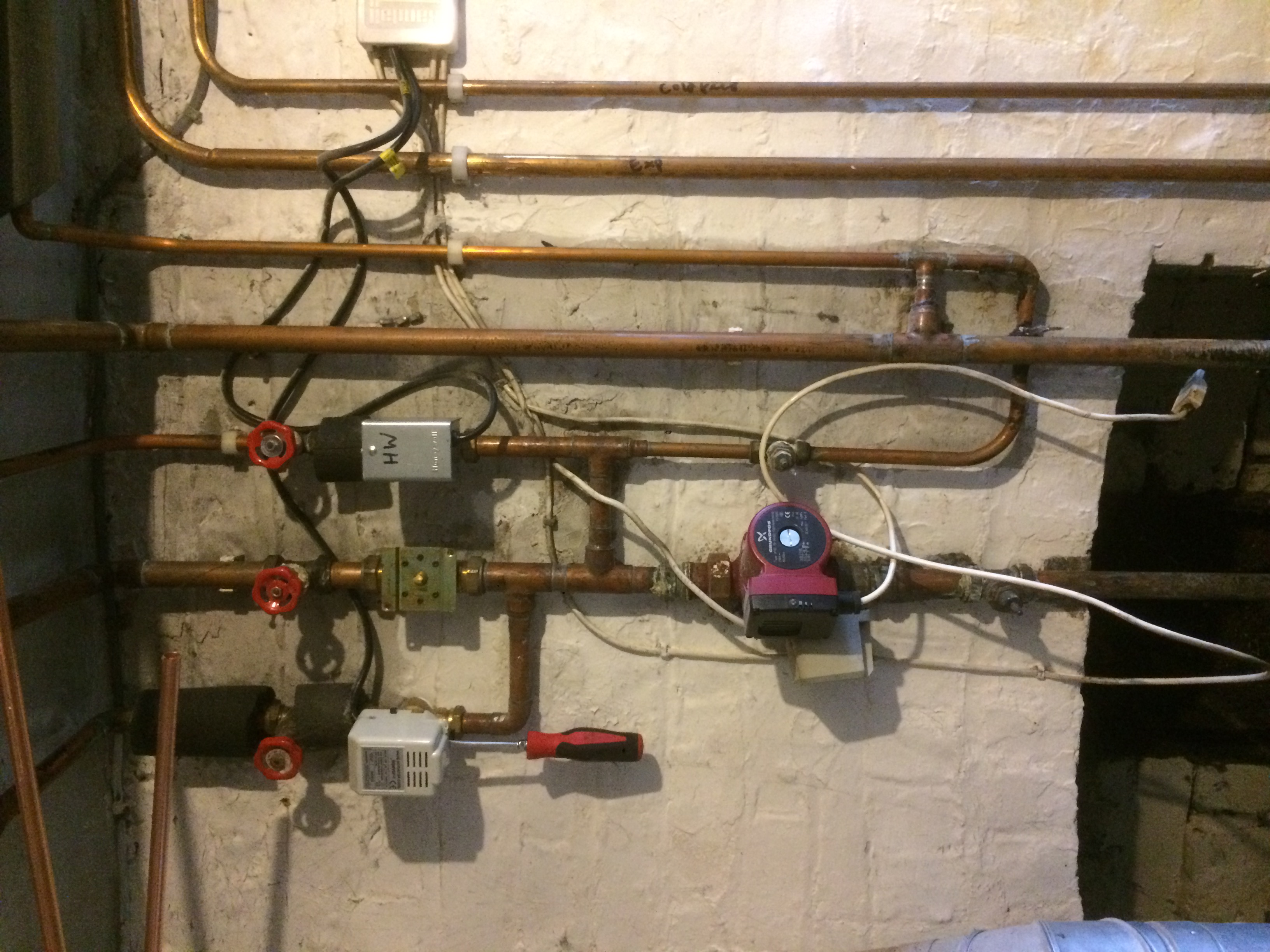 and pipework