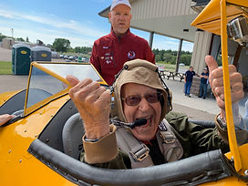 X-1FBO Joins Dream Flight's Mission to Honor WWII Heroes