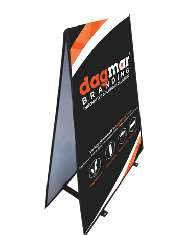 Outdoor Banner Stand A-frame