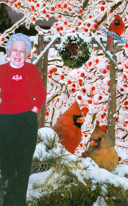 Mom and Cardinal