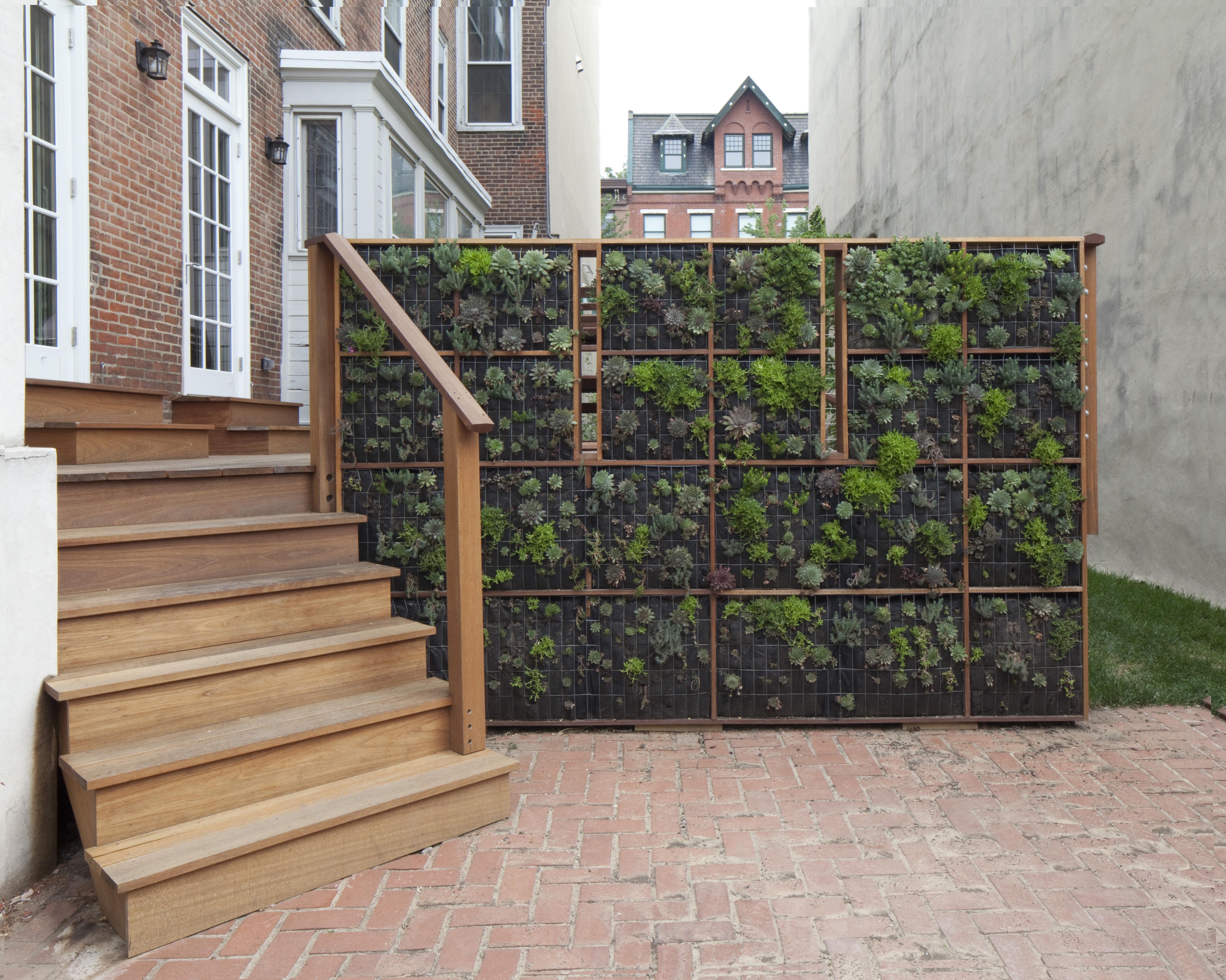 Green Street Green Wall