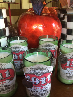 Fall Wedding Apple Orchard Candles