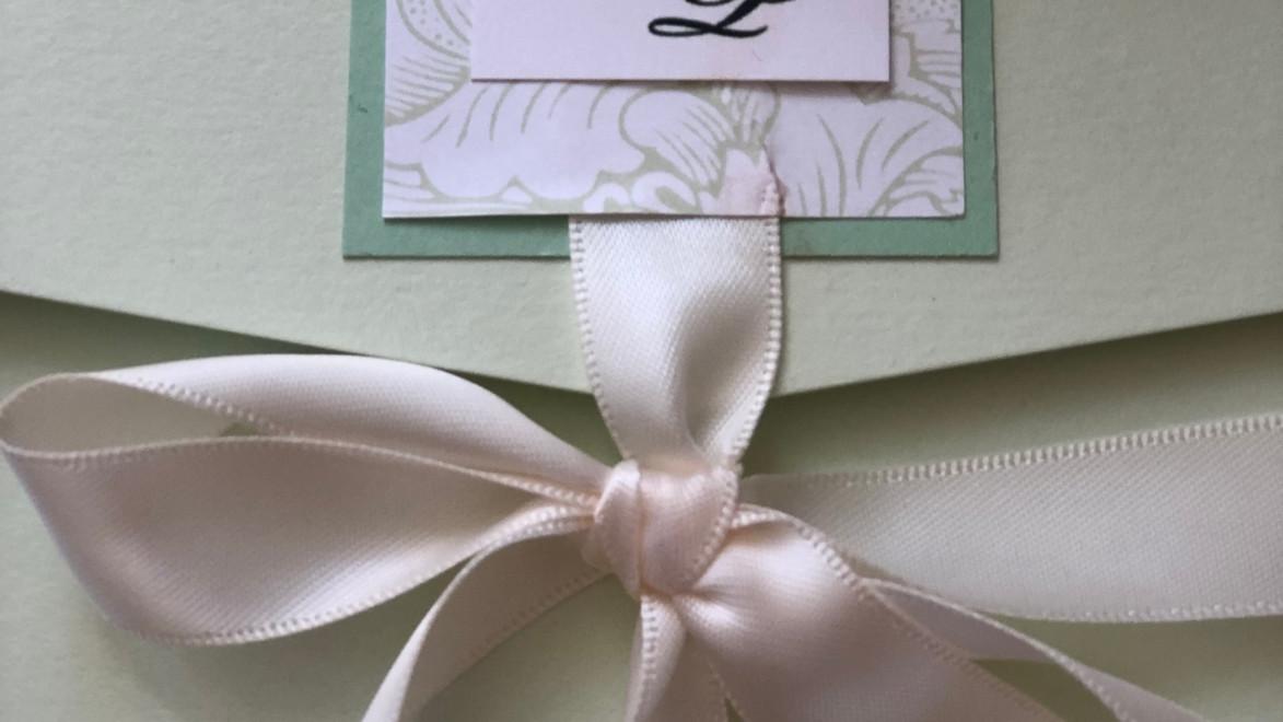 Vivianne Spring Wedding Invitation