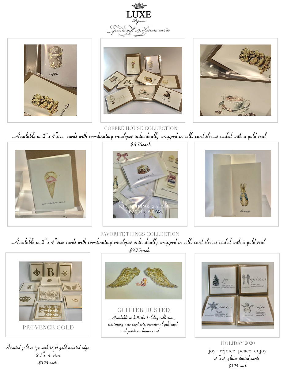 LUXE Paperie Price List.png