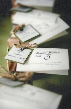 Sinclair Wedding Tree Root Gift Favors