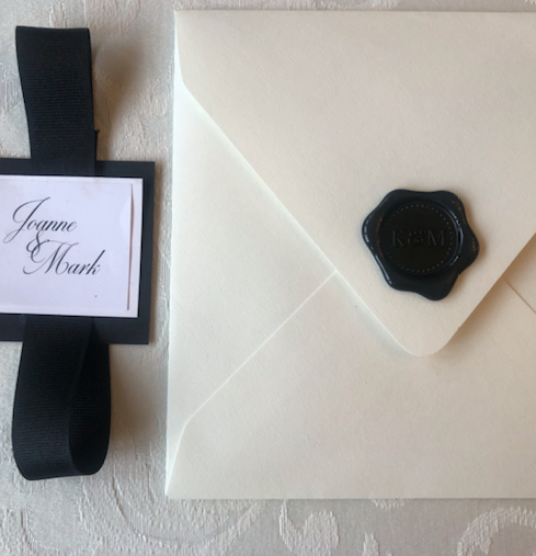 Mirbeau Spa Rhinebeck Wedding Invitation