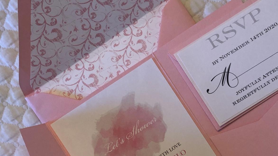 Julianna's Bridal Shower invitation
