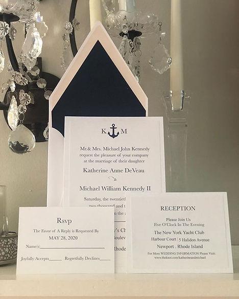 Newport Invitation #luxury#papers#custom