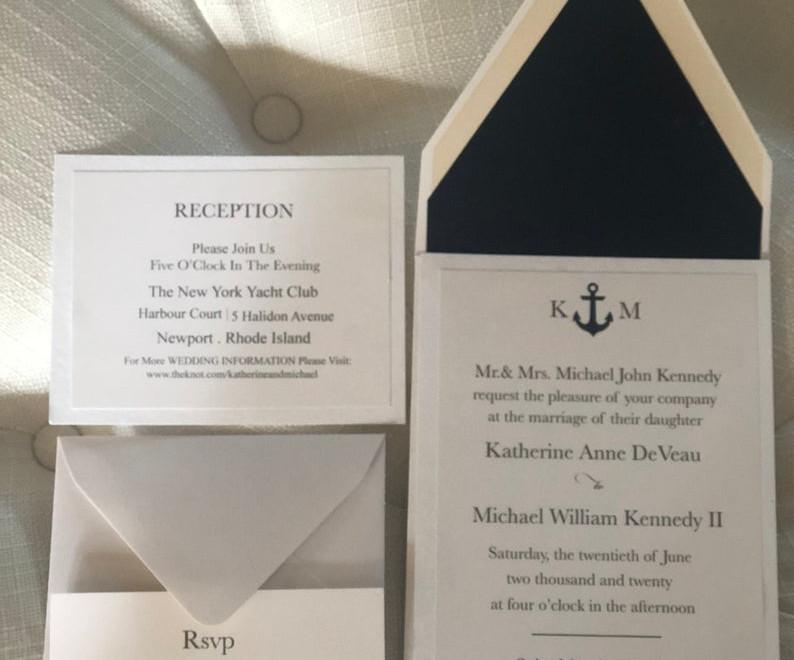 Newport Wedding Invitation Suite