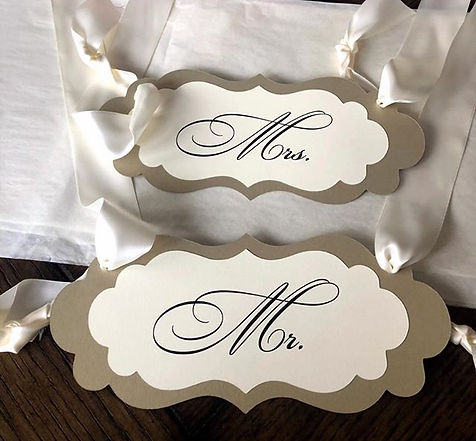 Luxury Paper Signs#weddings#custom#weddi