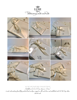 LUXE Paperie Price SATIONARY:NOTE CARDS