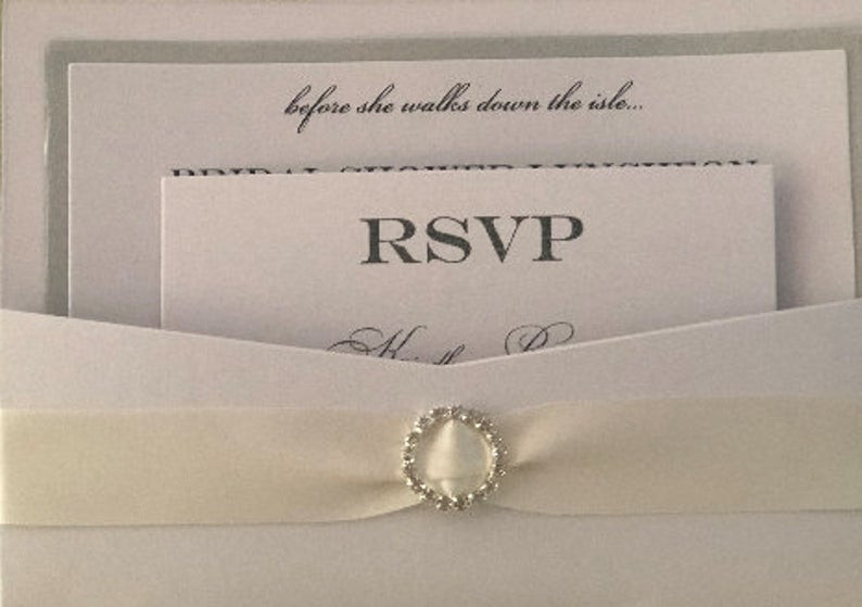 Pearl Bridal Shower invitation