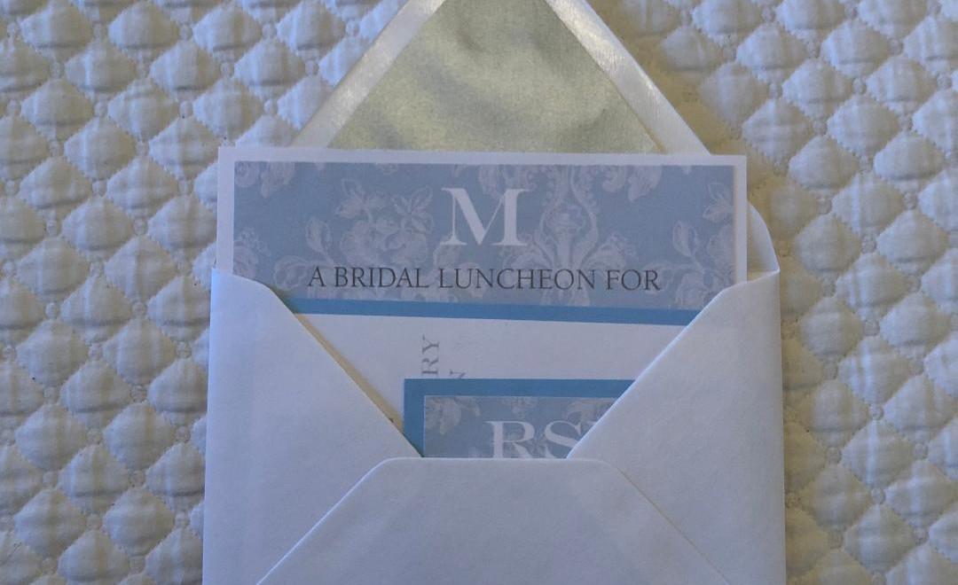 Marcella's Bridal Shower Invitation