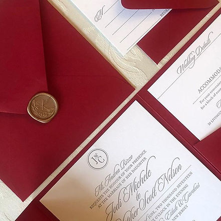 Introducing LUXE Paperie luxury papers f