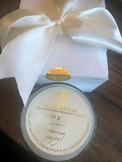 Custom Berkeley Home Candle Guest Gift