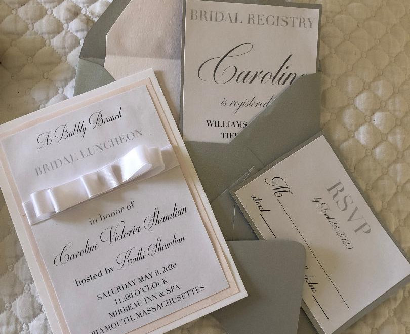 Caroline Bridal Shower Invitation