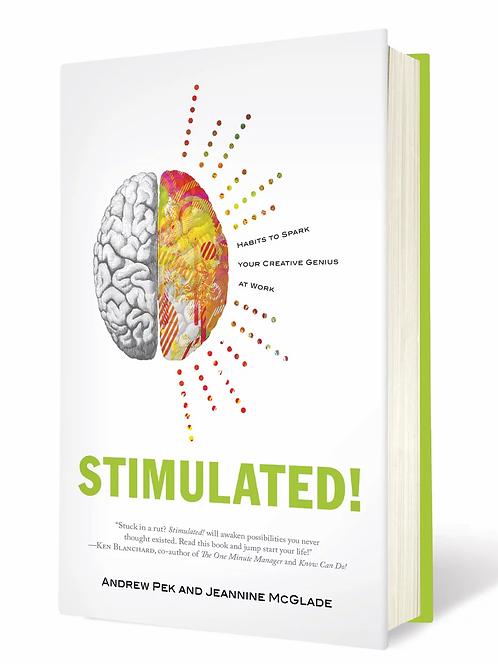 Stimulated! Habits to Spark Your Creative Genius at Work